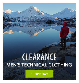 Clearance Men's technical clothing