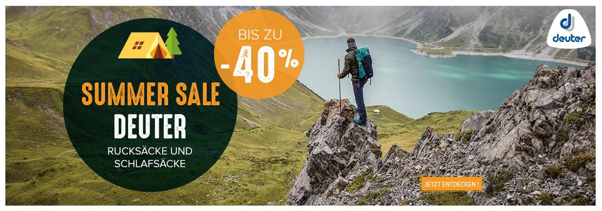 Summer Sale Deuter : Bis Zu -40% !