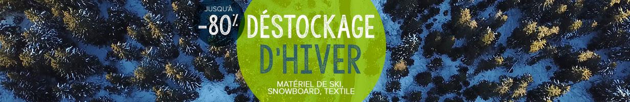 Découvrez le déstockage d'hiver Snowleader !