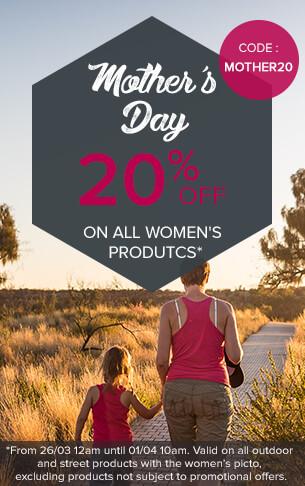 20% sur tous les produits girly de l'univers street!