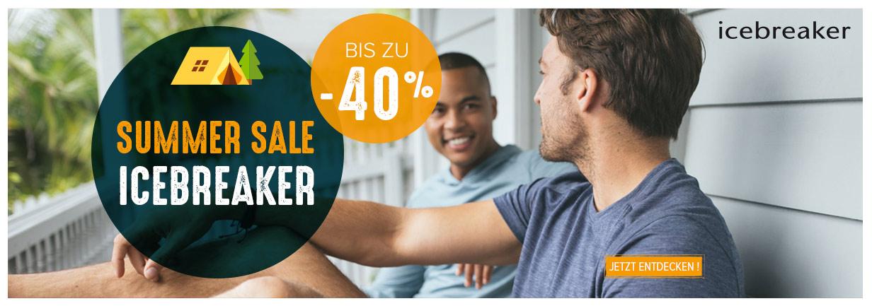 Summer Sale Icebreaker : Bis Zu -40% !
