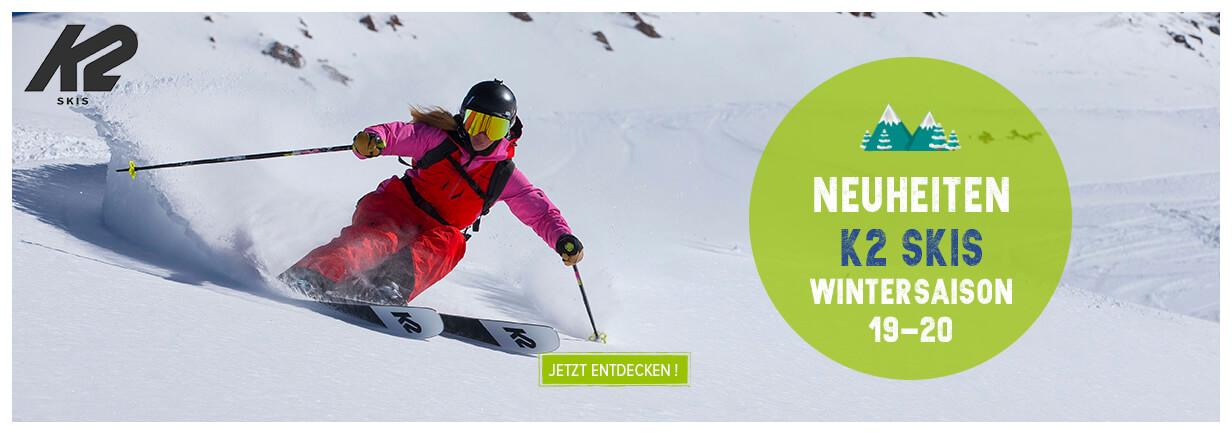 Neueheiten K2 SKIS ! Wintersaison 19-20 !