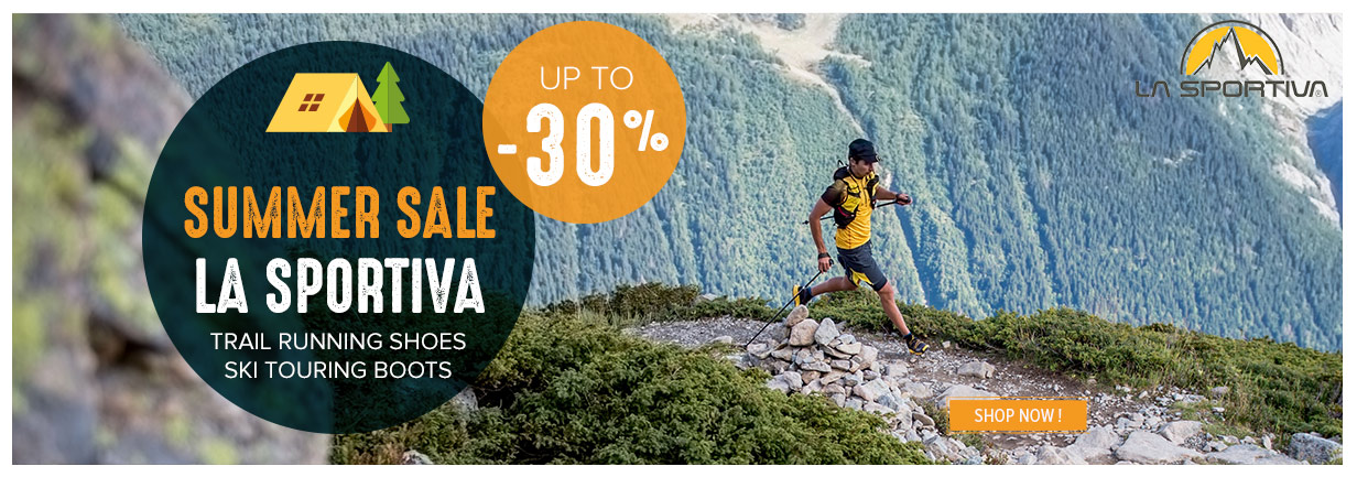 Summer Sale on La Sportiva shoes !