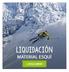 Liquidación material esquí