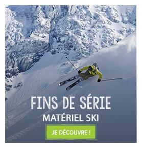 Fins de série sur le matériel ski!