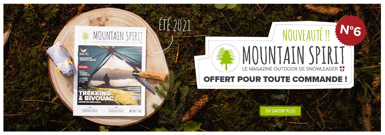 Le Mountain Spirit n°6 est arrivé ! Découvrez le magazine de Snowleader gratuitement en passant commande.
