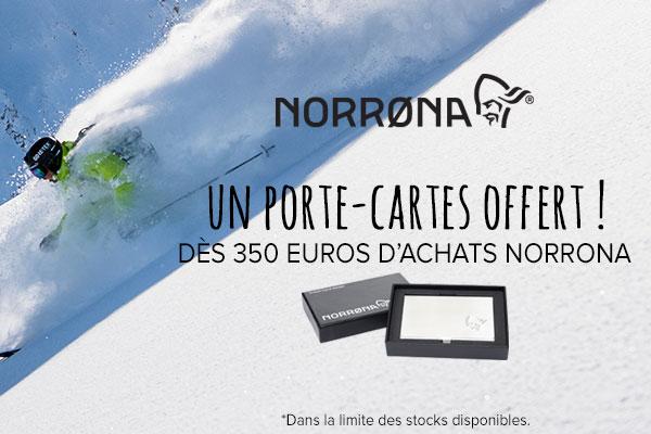 Porte-cartes offert pour 350€d'achats Norrona