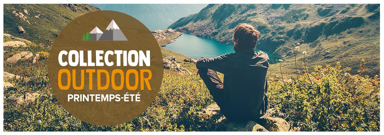Découvrez la collection outdoor printemps/été 2018 !