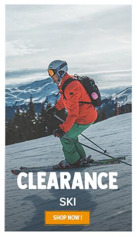 Ski on clearance!