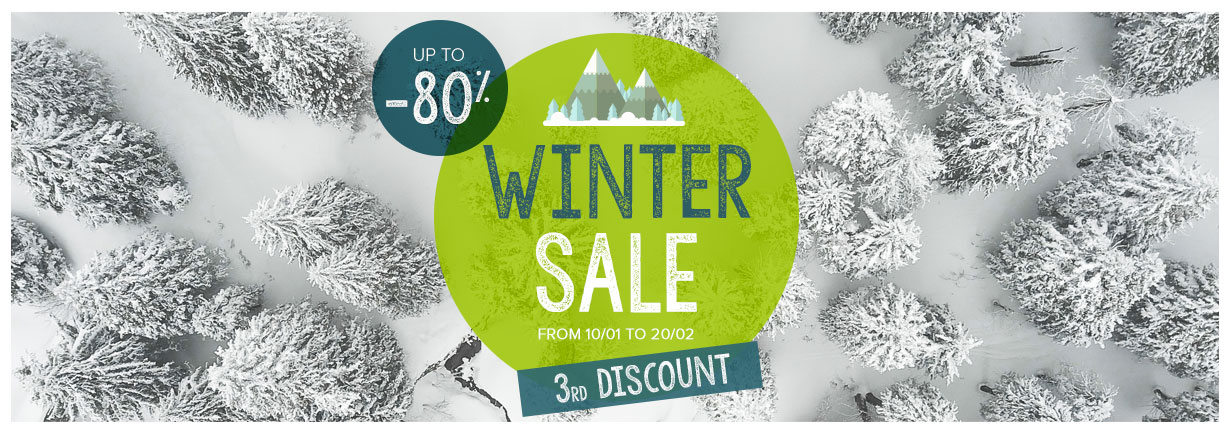 2nd discount of the Snowleader Winter Sale!