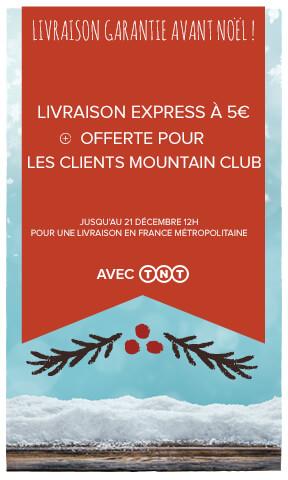 Livraison express à 5€, offerte pour les clients MC