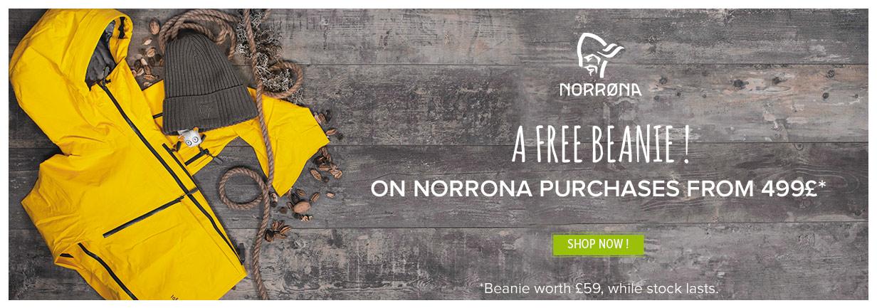 Norrona beanie offered !