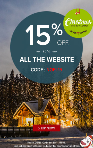 Enjoy 15% off on the all website !