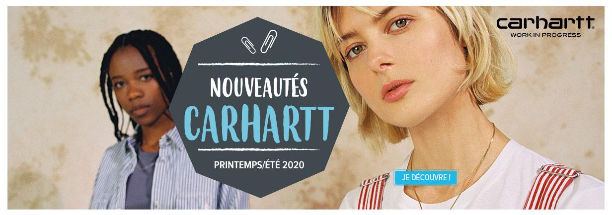Découvrez les nouveautés 2020 de notre rayon Carhartt !