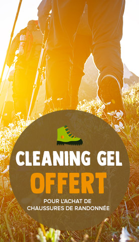 Cleaning gel offert