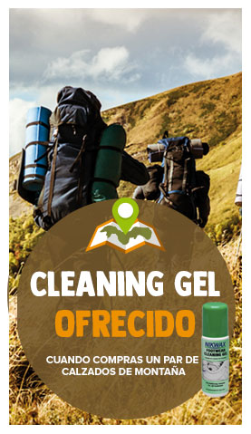 Cleaning gel ofrecido