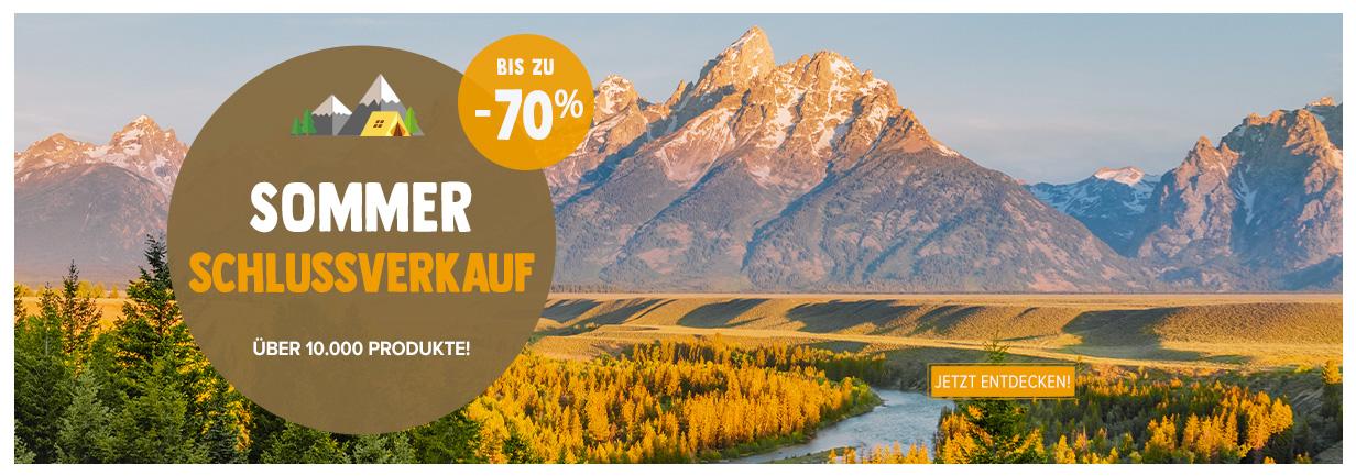 Sommer Schlussverkauf: bis zu -70% zusätzlich!