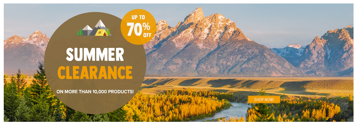 Summer clearance up to 70% off 10,000 products!