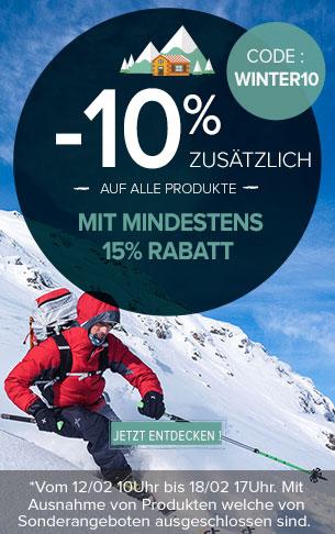 -10% zusätzlich auf alle Produkte mit mindestens 15% Rabatt