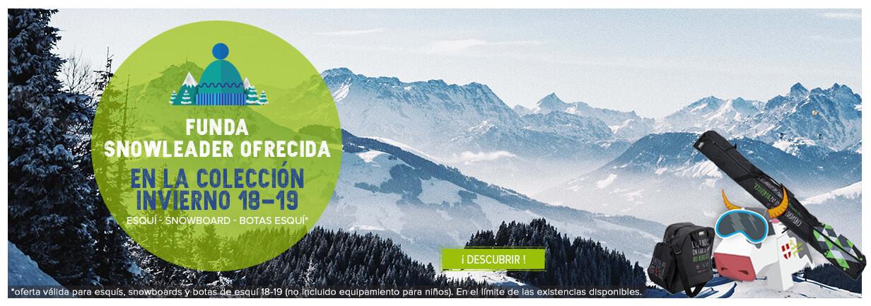 Funda snowleader ofrecida en la coleccion invierno 18-19 !