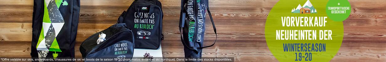 Gratis snowleader transporttasche geschenkt