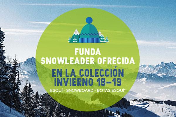 ¡ Funda Snowleader ofecida en la colección invierno 18-19!