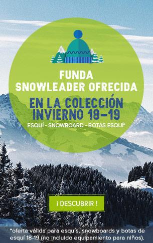 ¡ Funda Snowleader ofrecida en la colección Invierno 18-19 !