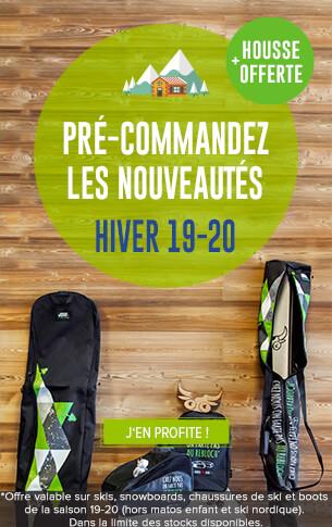 Une housse Snowleader offerte pour l'achat de skis, snowboard, chaussures de ski et boots