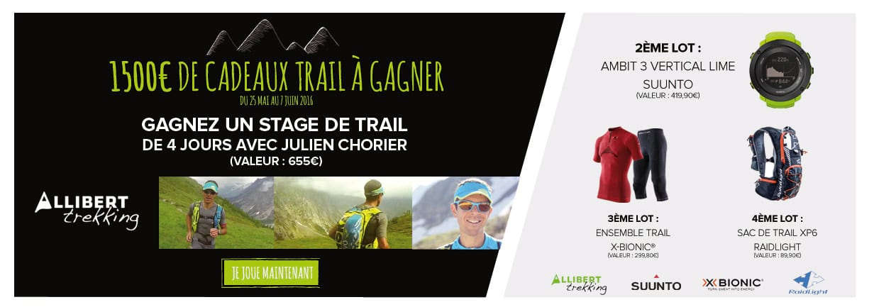 Concours trail