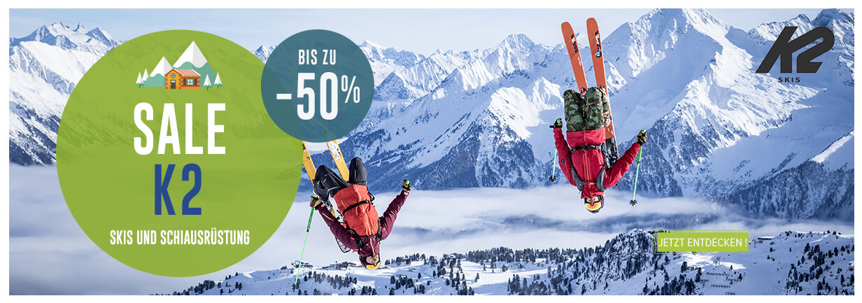 Neuheiten K2 Winter sale