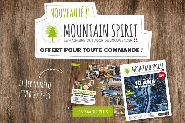 Mountain Spirit : le magazine Outdoor de Snowleader