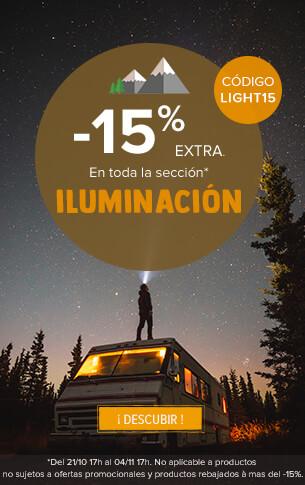 -15% extra En toda la sección iluminación !