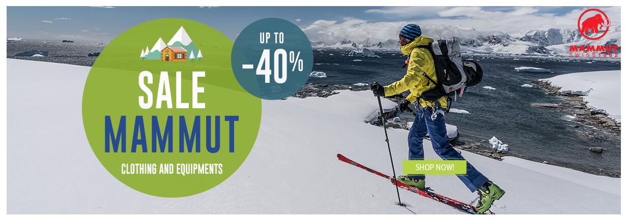Come discover Mammut produtcs on sale!