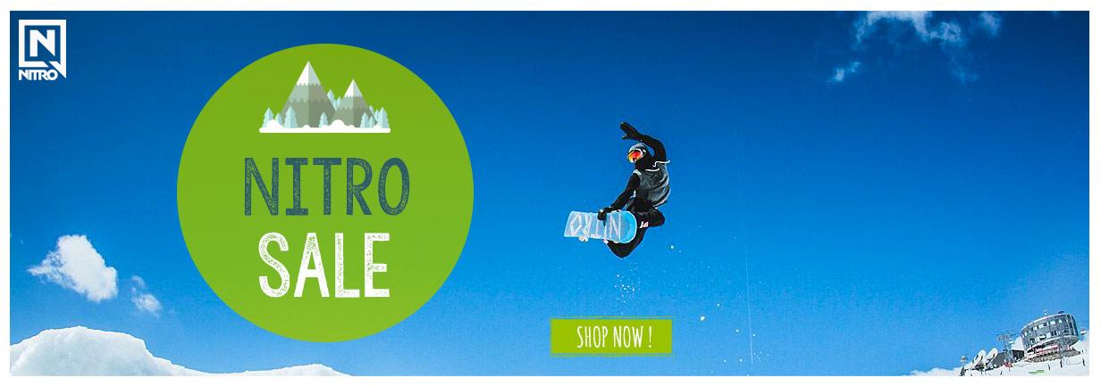 Nitro Sale Snowleader!