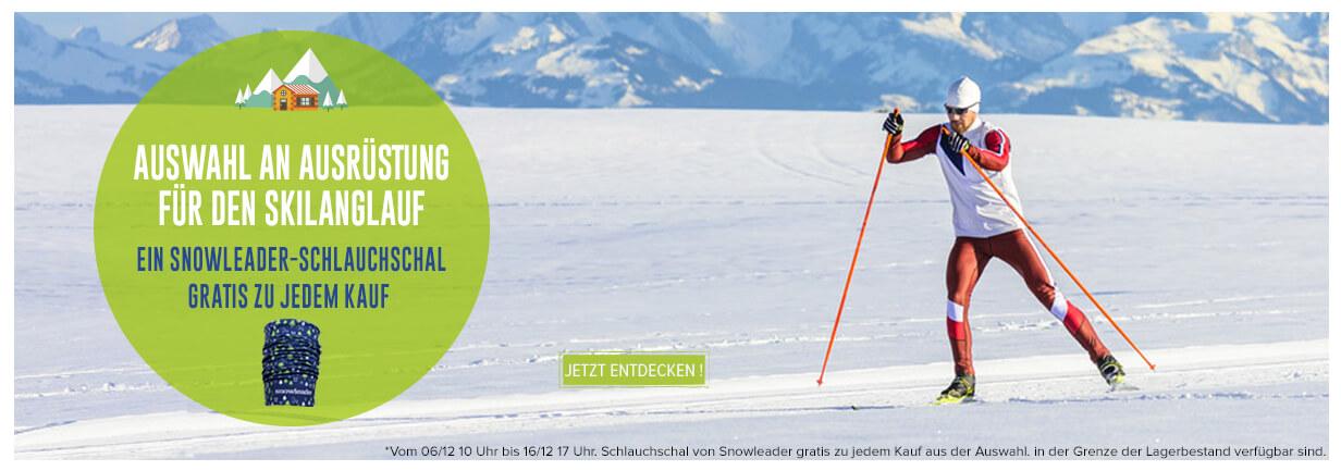 Schlauchschal von Snowleader gratis zu jedem Kauf aus der Auswahl