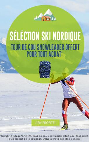 Recevez un tour de cou Snowleader gratuitement pour tout achat d'un produit de la sélection !