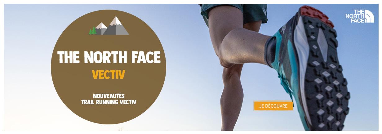 Découvrez les nouveautés chaussures de trail running The North Face Vectiv !