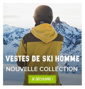 Découvrez les nouvelles vestes de ski homme!