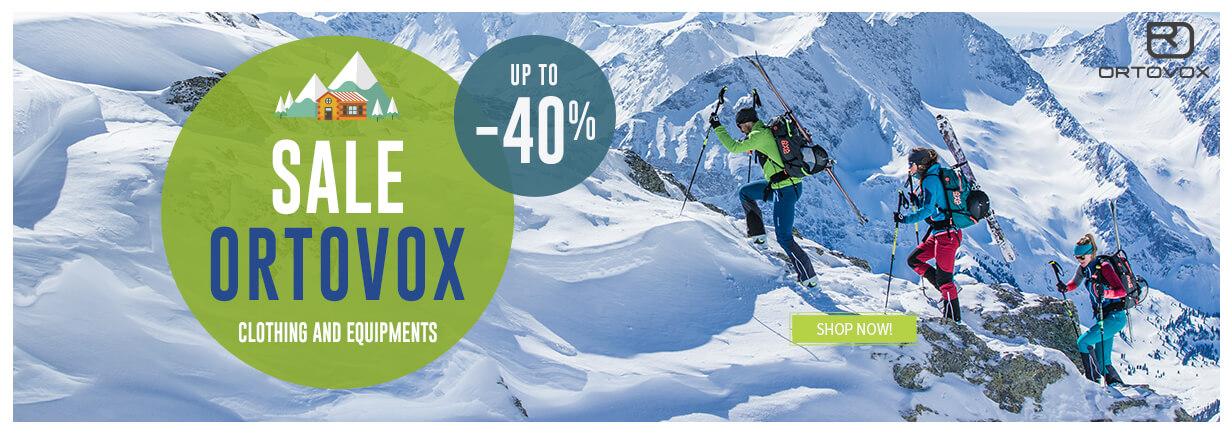 Come discover Ortovox produtcs on sale!