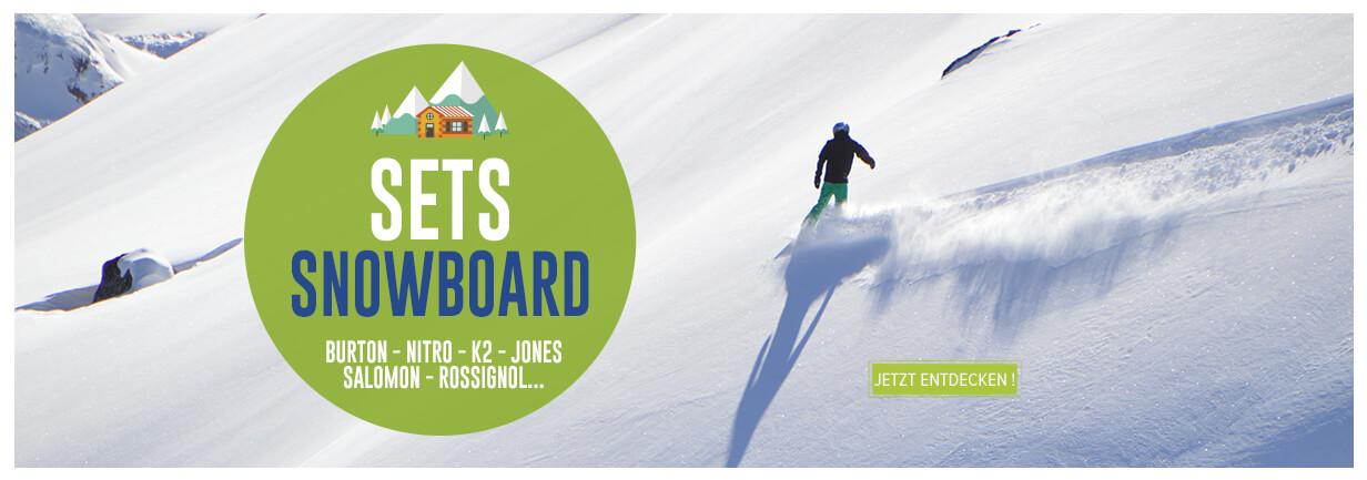 Jetzt entdecken Sets Snowboard : Burton, Nitro, K2...