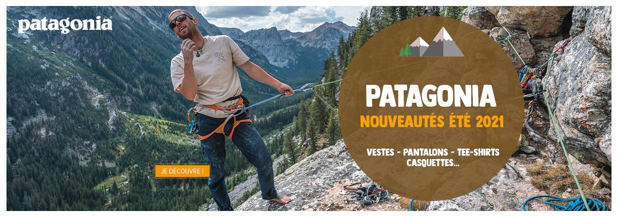 Découvrez les nouveautés Patagonia 2021 : Vestes - Pantalons - T-shirts - Casquettes...