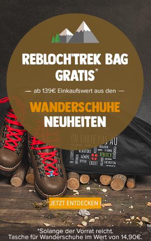 Rebloch'trek Bag gratis ab 139€ Einkaufswert aus den Wanderschuhe Neuheiten!
