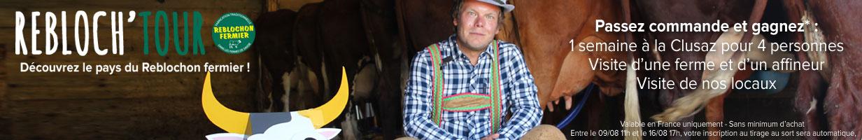 Participez au rebloch'tour et venez découvrir le pays du Reblochon fermier!