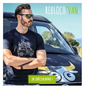 Découvrez le T-shirt Rebloch'Van Snowleader!