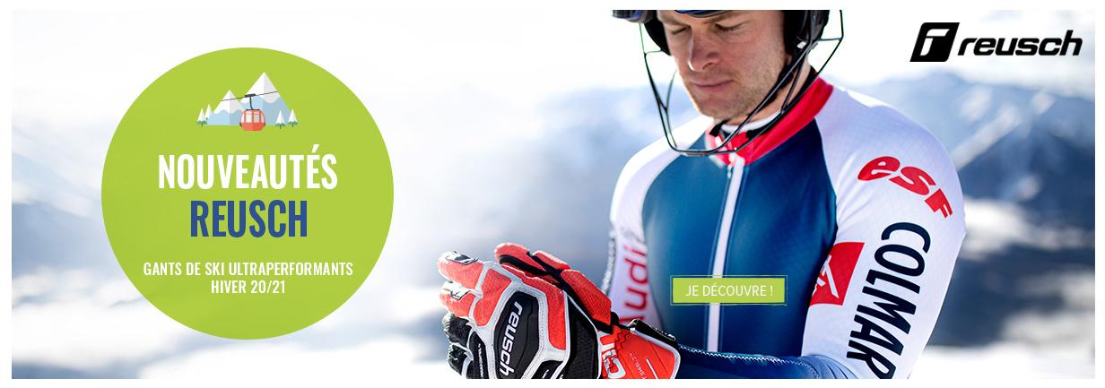 Découvrez les gants Reusch en soldes sur snowleader.com !