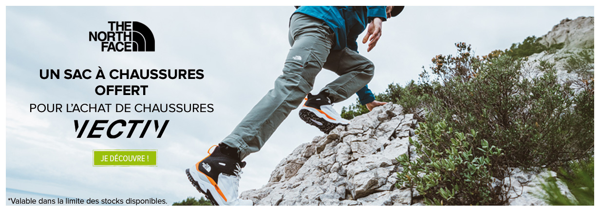 The North Face : chaussures Vectiv