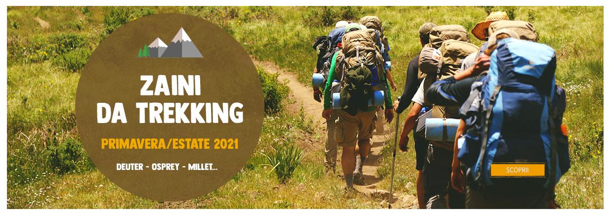 Zaini Da Trekking - Primavera/Estate 2021