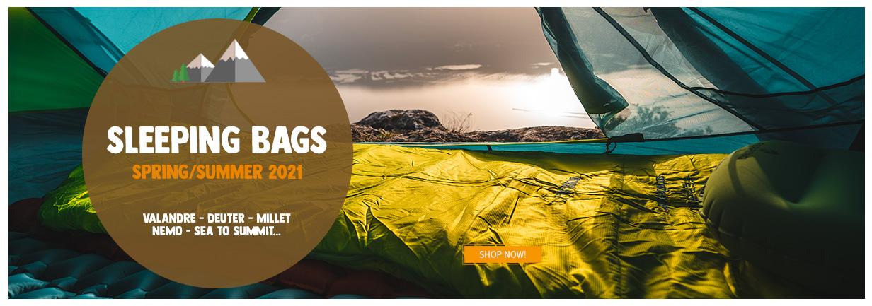 Sleeping Bags : Valandre - Deuter - Sea to Summit...