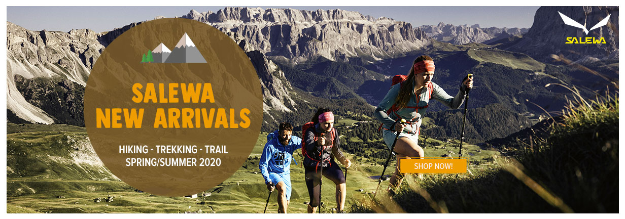 Come discover Salewa new arrivals!