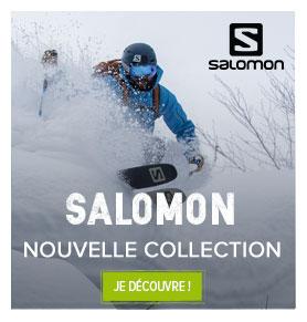 Découvrez la nouvelle collection Hiver 18-19 Salomon!